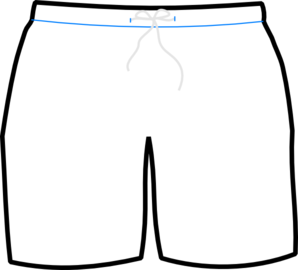 vector transparent download Swim Shorts Clipart