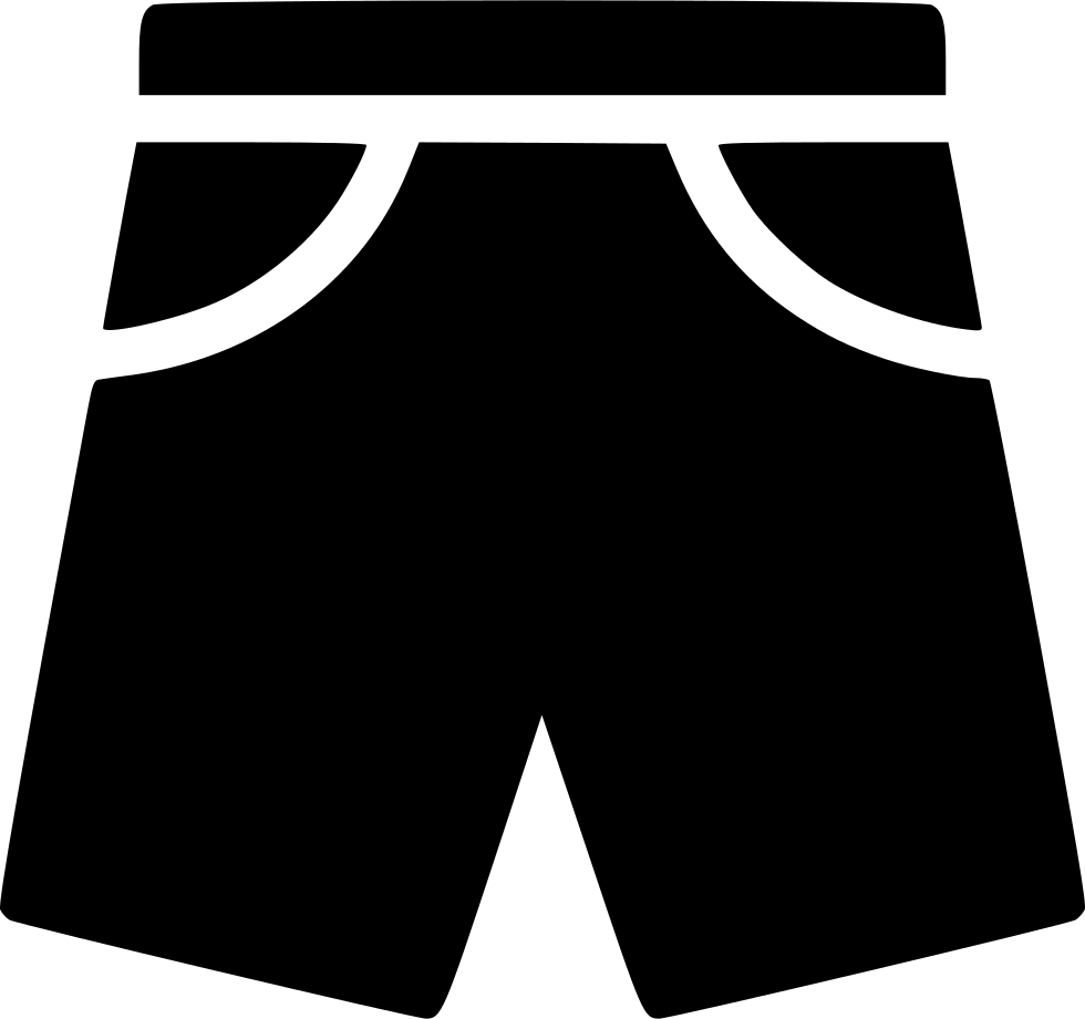 image black and white download Shorts Pants Men Fashion Garment Svg Png Icon Free Download