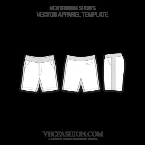 vector download Underwear vector mens. Men training shorts vecfashion
