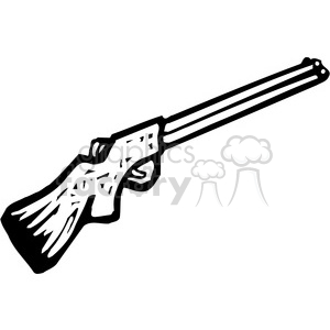 jpg library library Black and white royalty. Shotgun clipart.