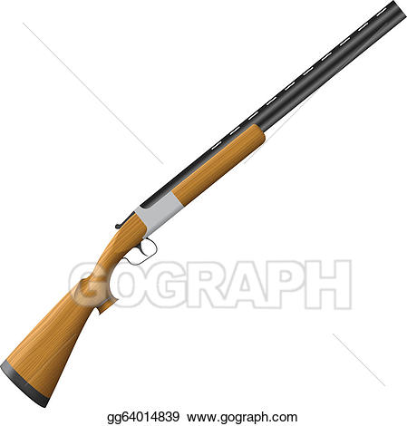 png library library Shotgun clipart. Vector art drawing gg.