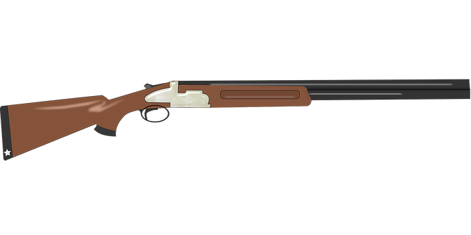 jpg royalty free stock Shotgun clipart. Real gun free on.