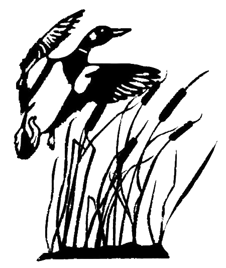 library Hunter clipart black and white. Duck hunting silhouette panda
