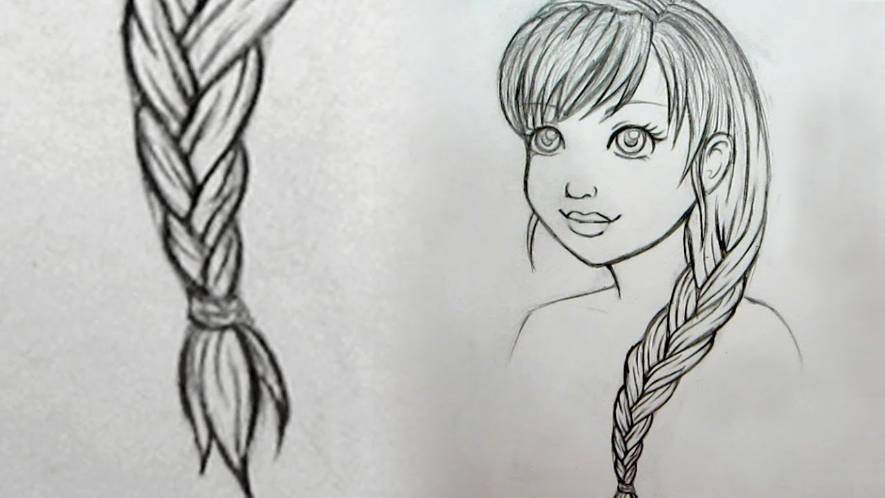 clip art freeuse How to Draw Braids