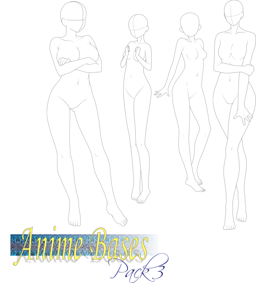 clip transparent library Anime Bases pack