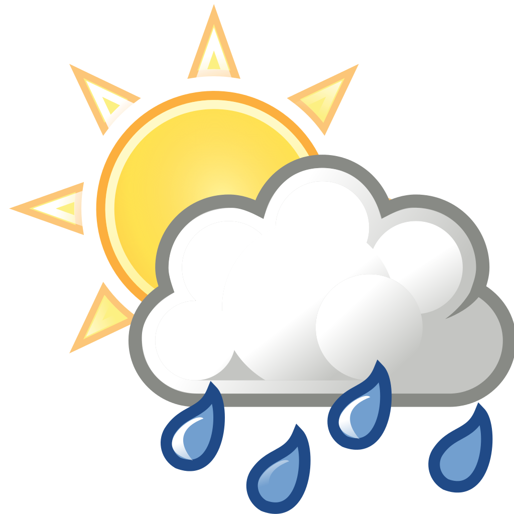 clip Showering clipart bad weather.  collection of image