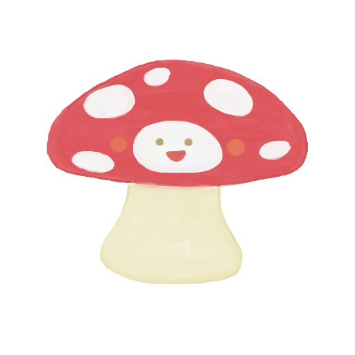 png royalty free library Shroom drawing. Happy mushroom icon png