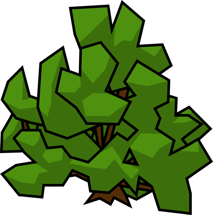 clipart transparent library Shrub drawing. Plants rose tree free