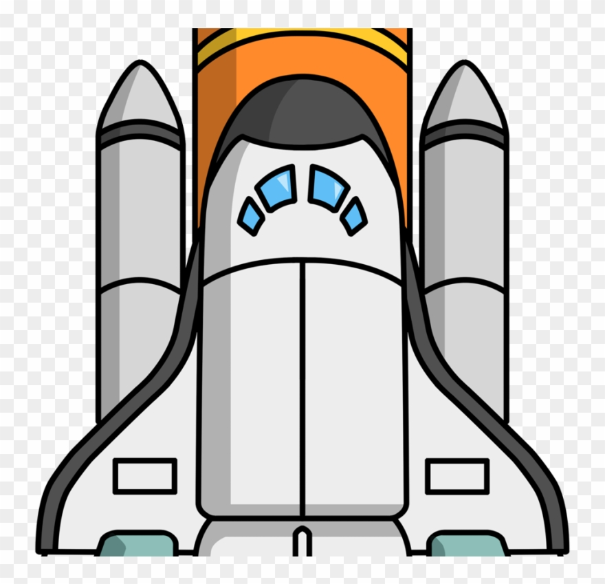 svg royalty free download Download space clip art. Shuttle clipart.