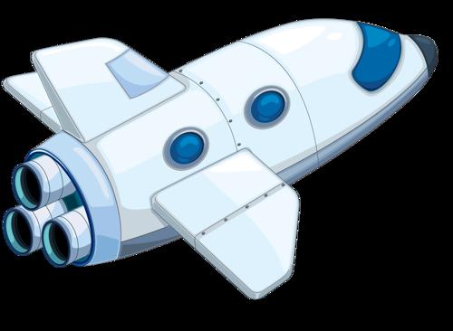 graphic transparent stock Space clip art transport. Shuttle clipart.