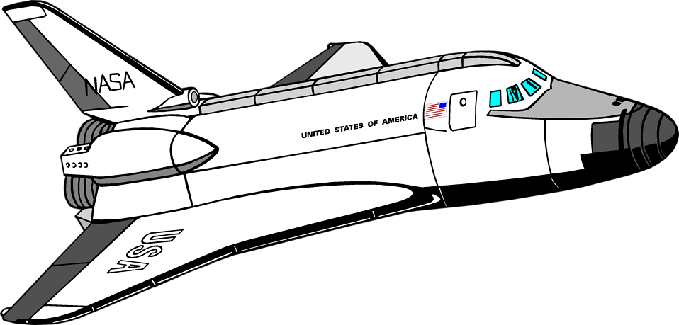 clip royalty free library Space Shuttle Clipart