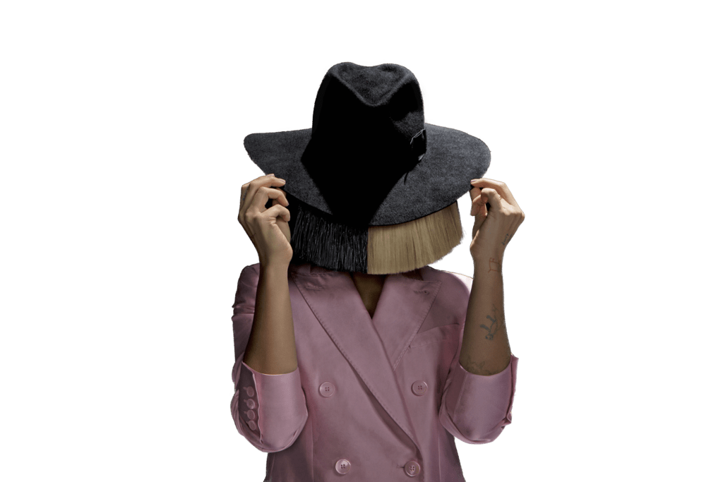 svg black and white stock Hat png stickpng music. Sia transparent