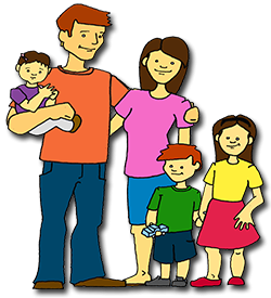 banner free library Siblings clipart. Family transparent background free.