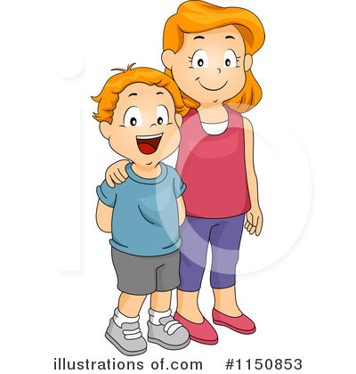 svg free stock Siblings clipart. Illustration by bnp design.