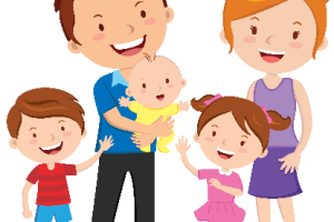 clip art freeuse download Siblings clipart. Small family member free.