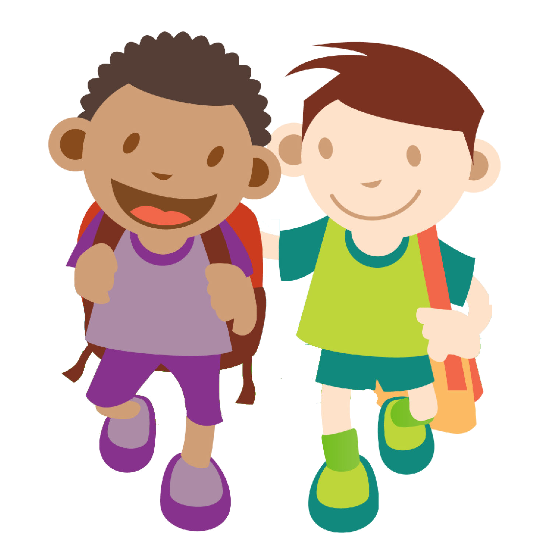 banner library download Kids walking to school clipart. Image result for black