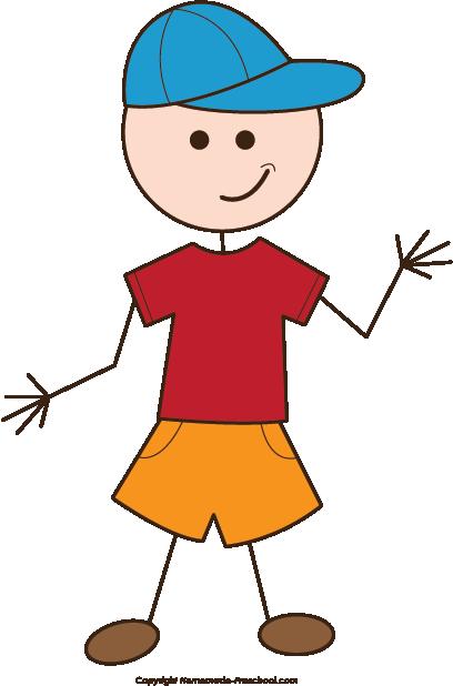 clip art Boy Clipart Stick Figure