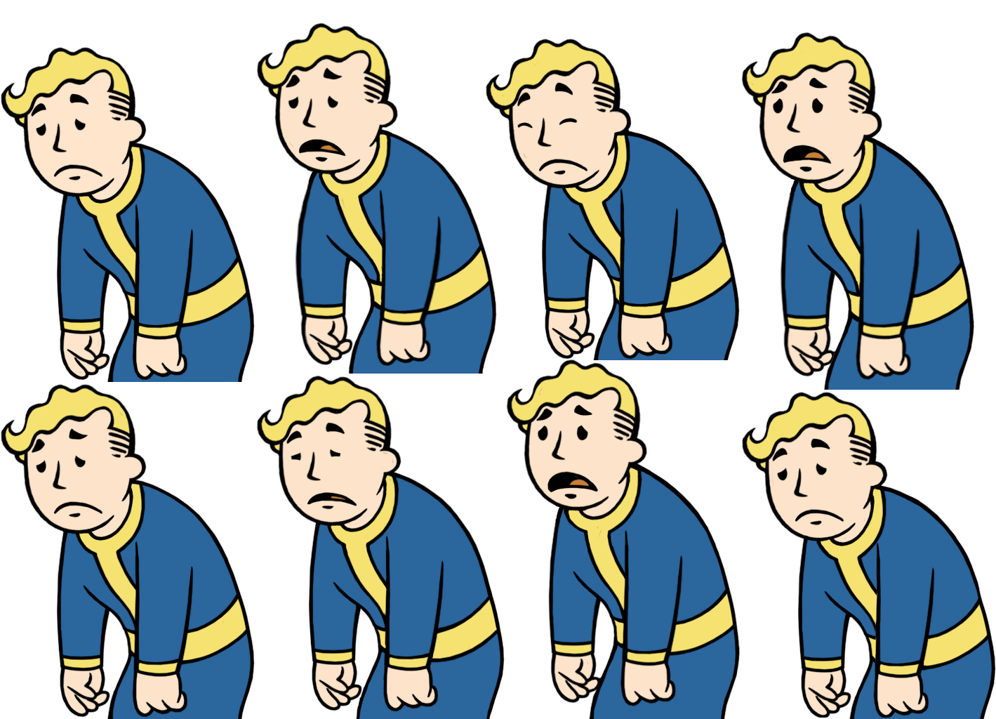 clipart transparent stock Fallout Clipart guy