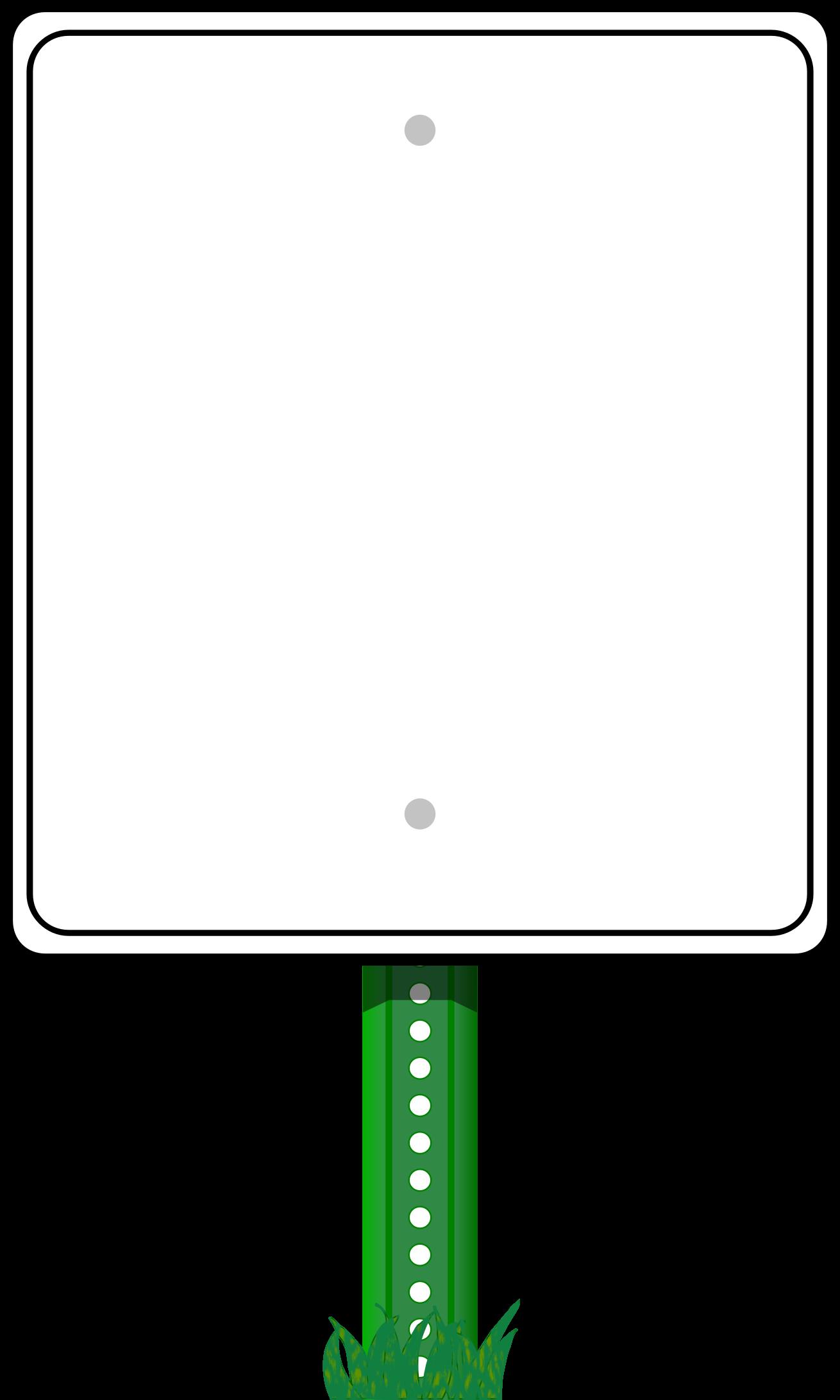 vector freeuse Road sign border big. Page clipart horizontal