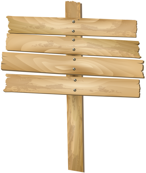 graphic royalty free download Wooden clip art png. Sign transparent
