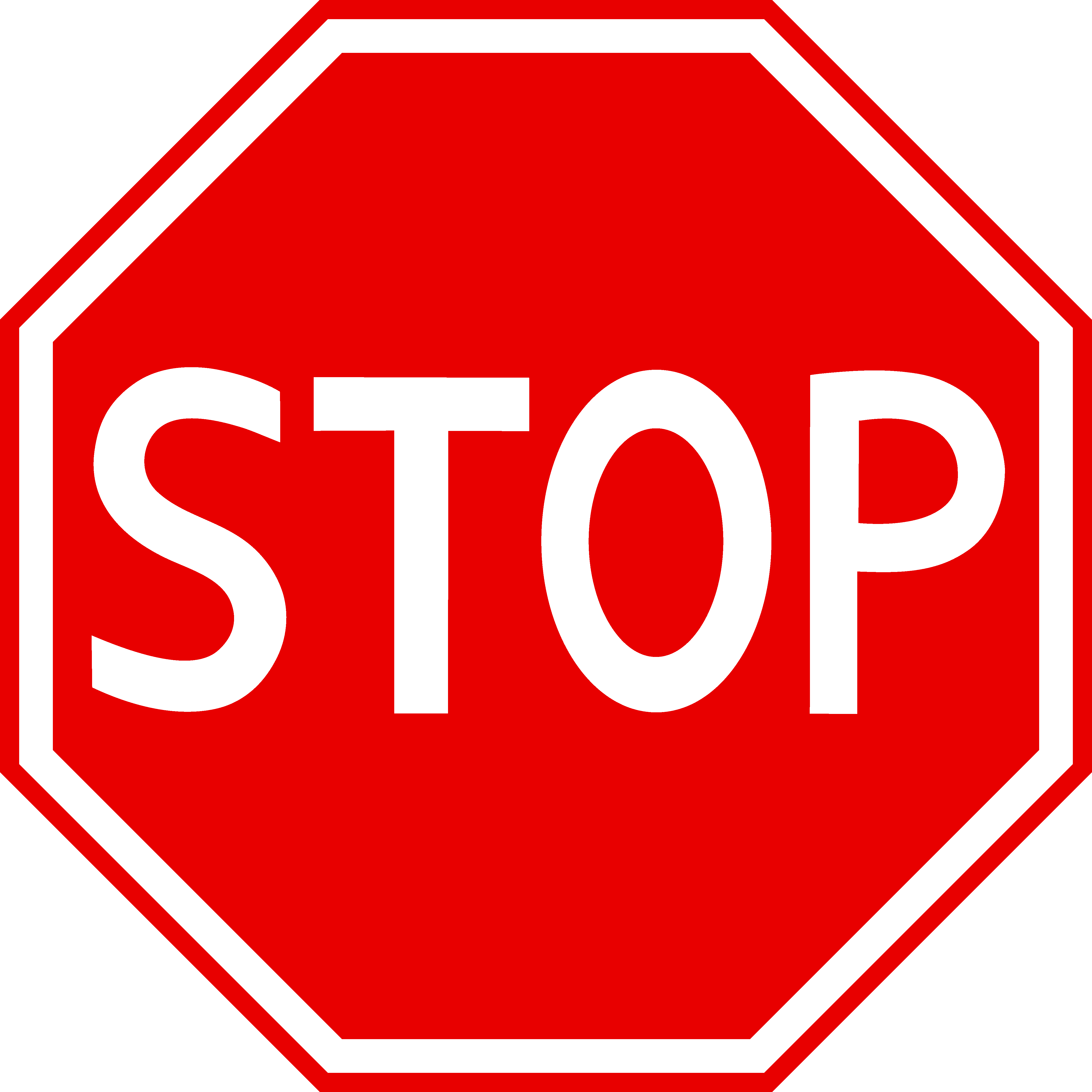 jpg royalty free Red stop free clip. Sign clipart.