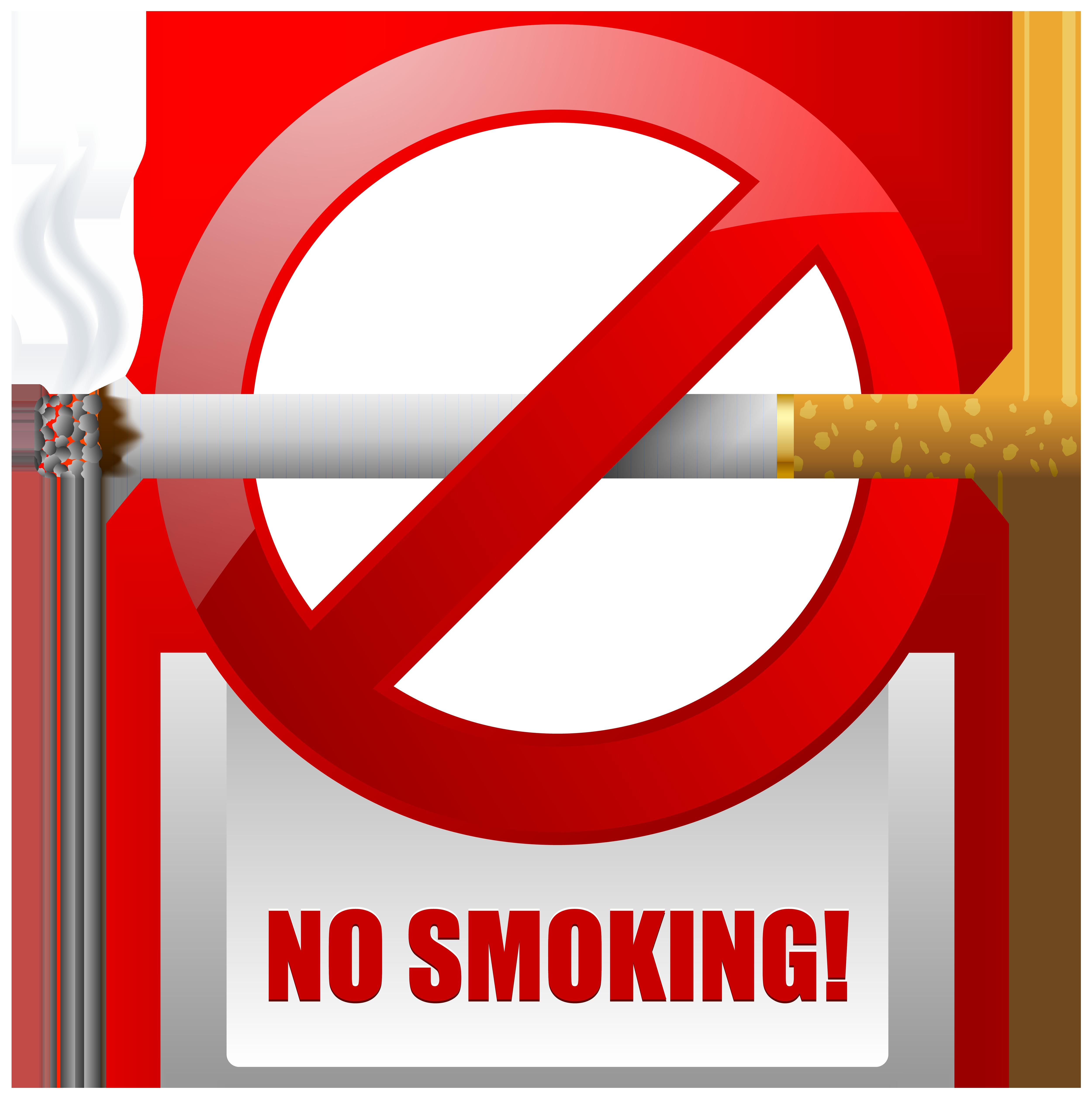 image freeuse download Red no smoking warning. Sign clipart.