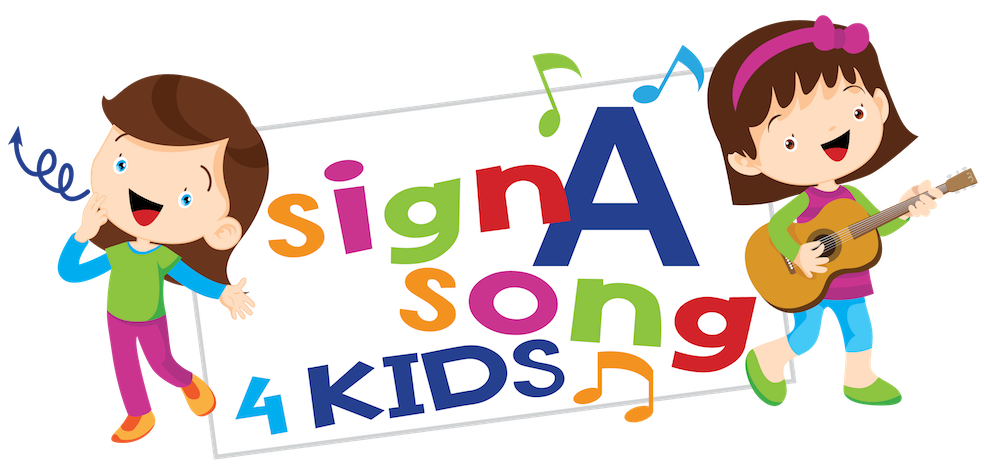 png library stock A song learning through. Sign language clipart kids