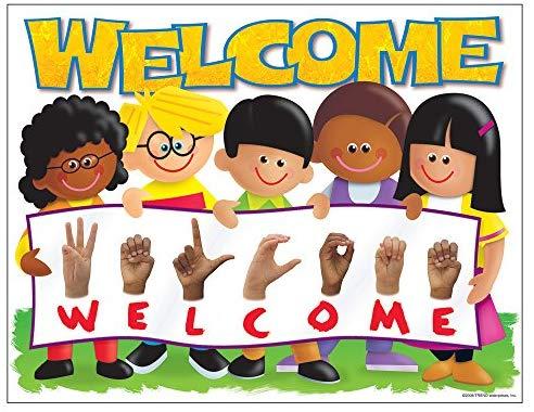 image free Trend enterprises inc welcome. Sign language clipart kids