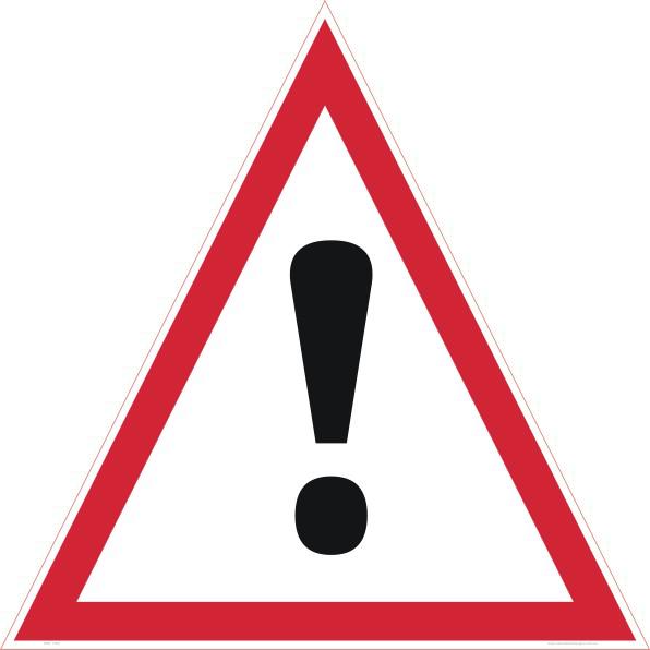 freeuse stock Danger Sign PNG Transparent