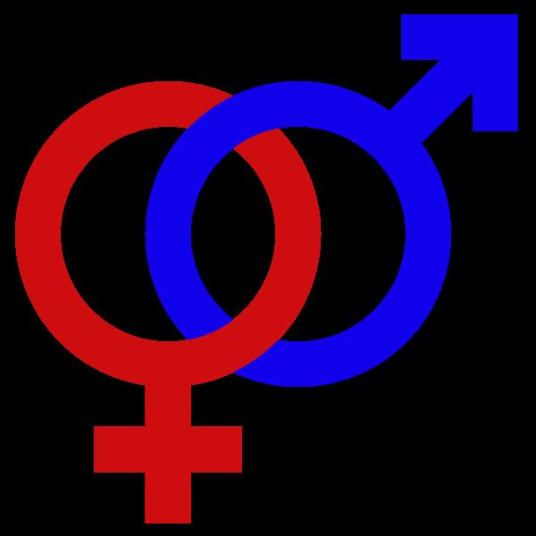 graphic freeuse library sign transparent gender #103024463