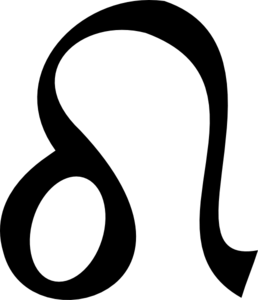 image black and white download Clipart desktop backgrounds sign. Zodiac vector leo