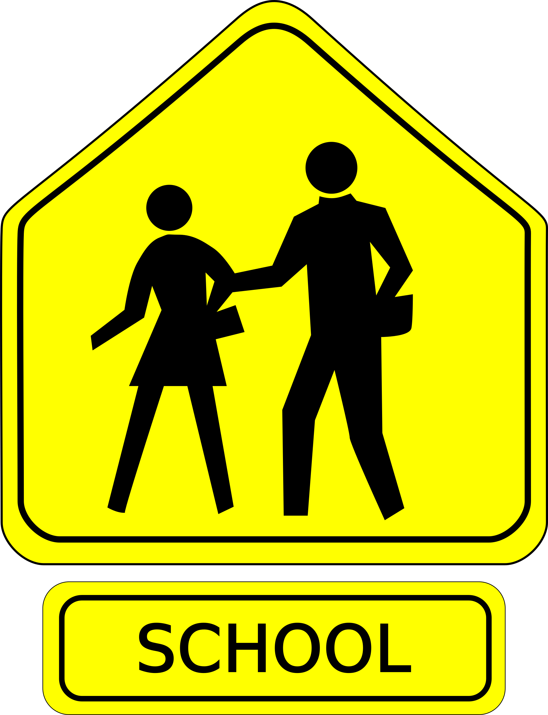 png royalty free library School Zone Signage on NE