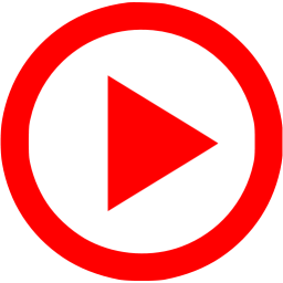 clip art transparent Red video play