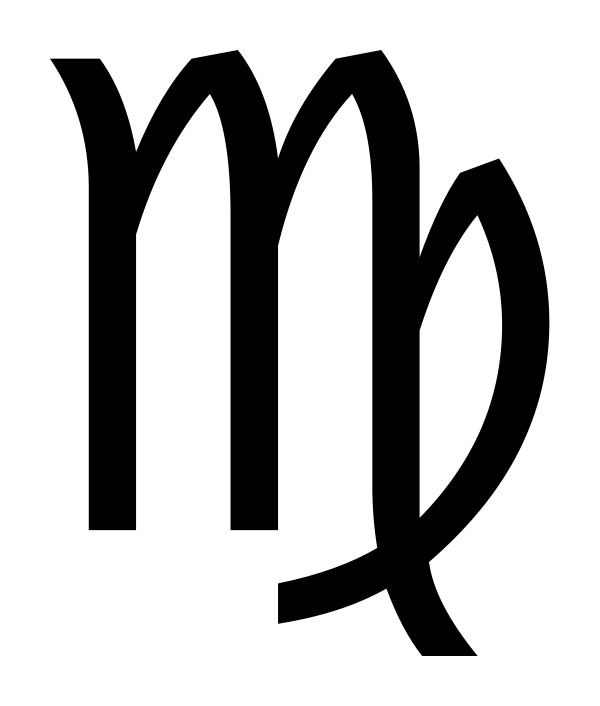 jpg sign transparent virgo #103021406