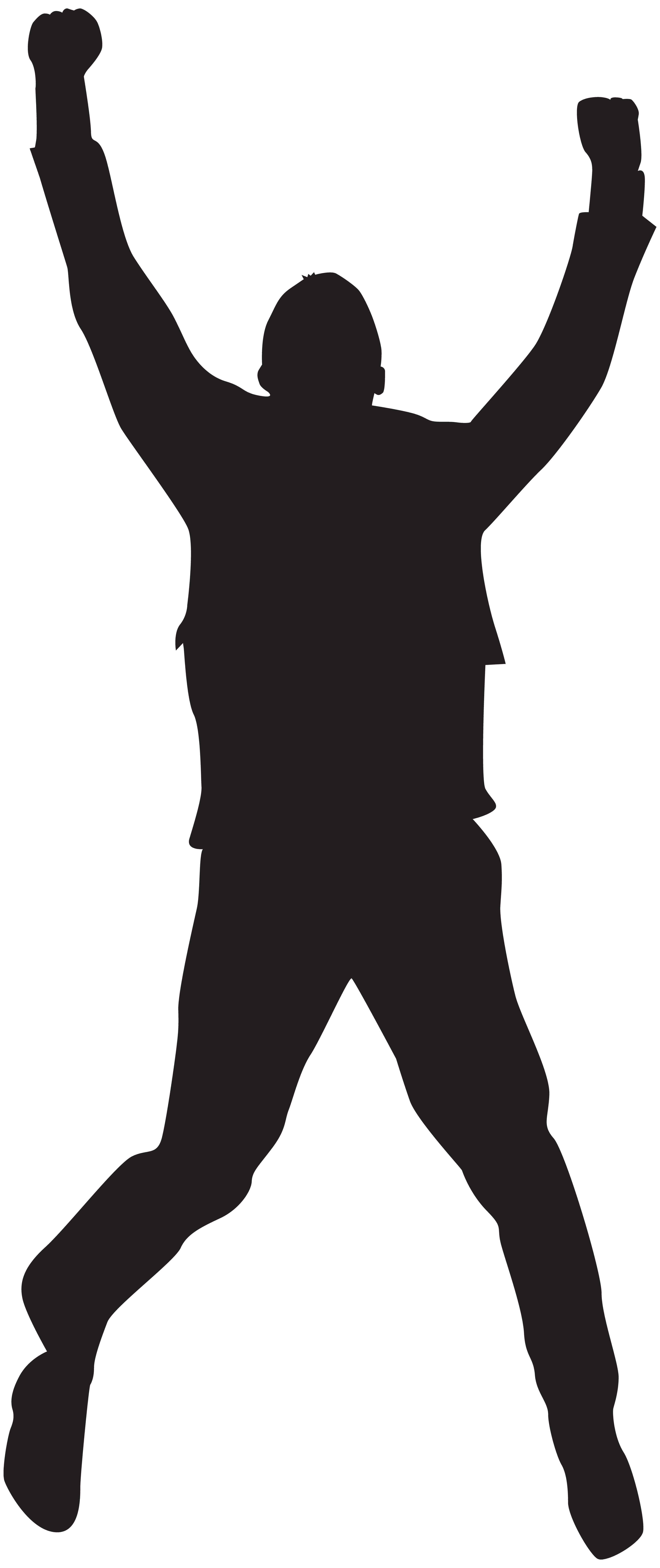 graphic transparent stock Jumping Happy Man Silhouette PNG Clip Art Image