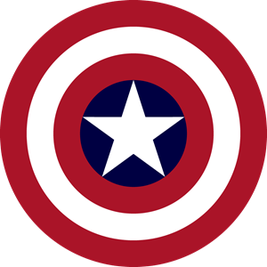 banner transparent library Captain America Logo Vector
