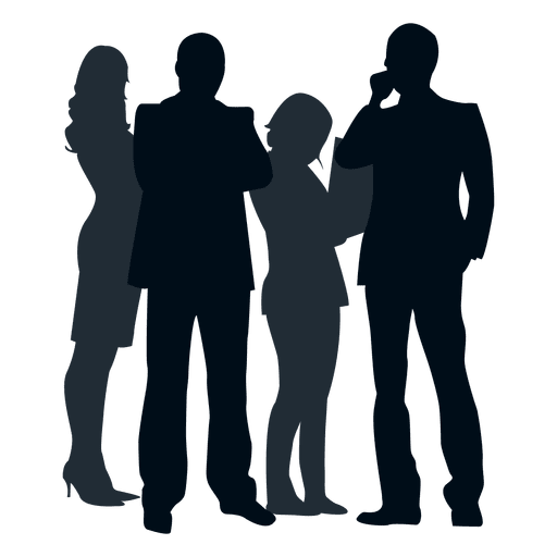 picture free download Group people png or. Silhouette transparent