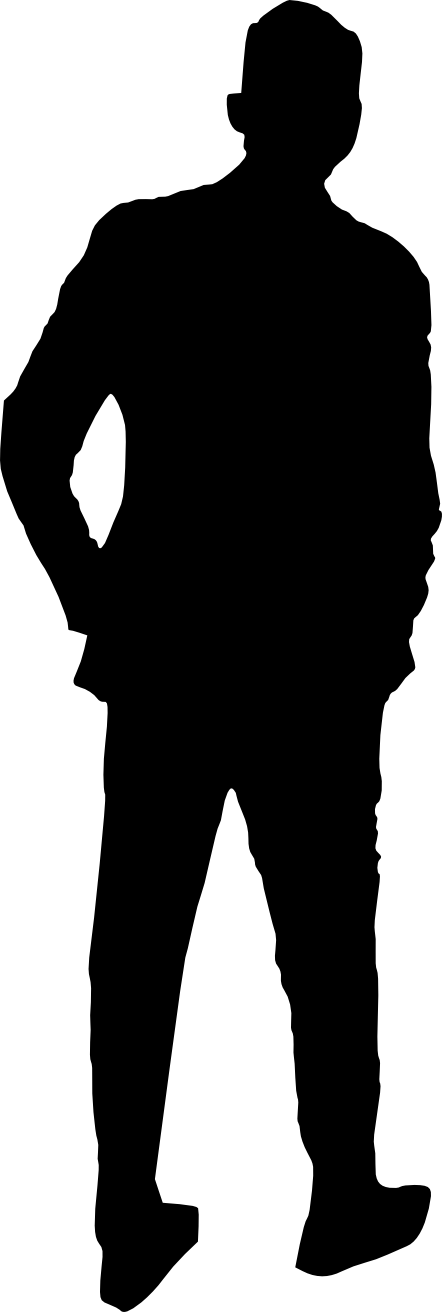 clip royalty free download  man png onlygfx. Silhouette transparent