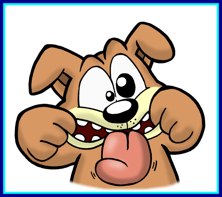 picture freeuse download Cartoon dogs funny appealing. Silly clipart dog