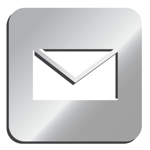 image royalty free Email silver icon