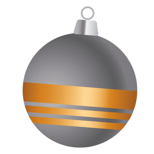vector free library Gold ribbon grey bauble