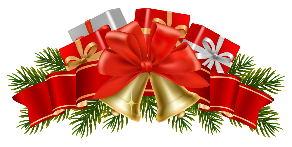 clipart transparent library Merry Christmas Bunting Christmas Decorations By Little Silverleaf