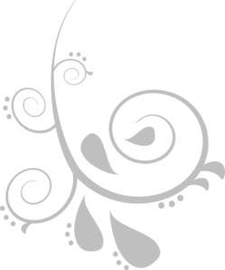 jpg black and white download Silver Swirl Clip Art at Clker