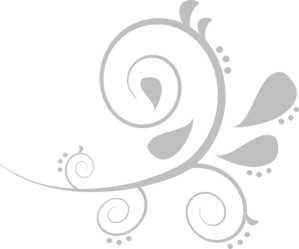 clip black and white download Silver Swirl Clip Art at Clker