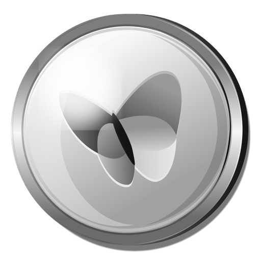 royalty free library Msn silver icon