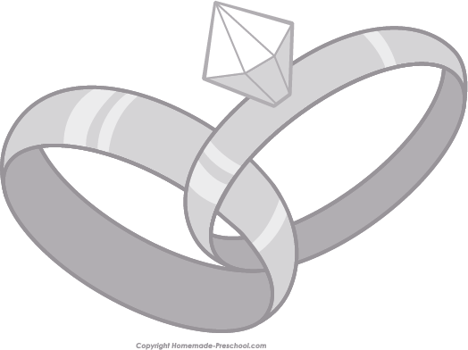 vector royalty free library Free Wedding Rings Clipart