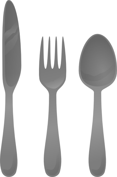 vector library library Moself Cutlery Clip Art at Clker