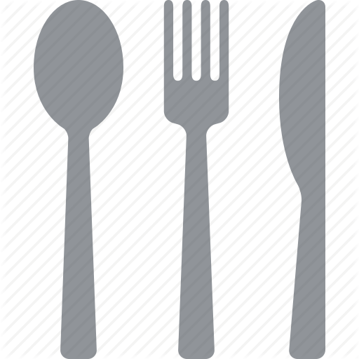 graphic free library silverware vector #87748219