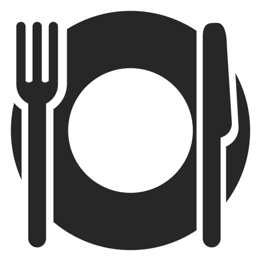 picture black and white download Free Cutlery Vector