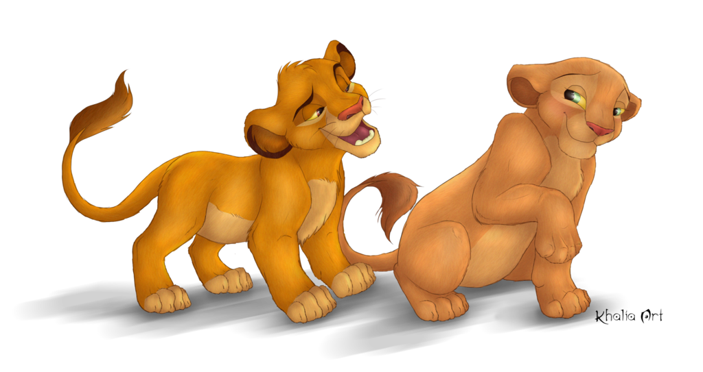 graphic black and white library simba transparent artwork #103098836